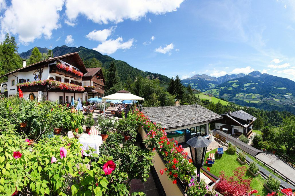 Benvenuti nel paese di Tirolo presso Merano